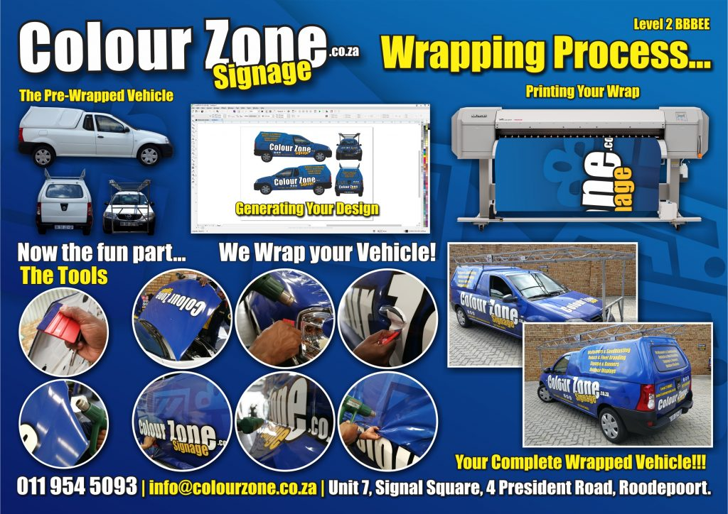 how we wrap your car - the process